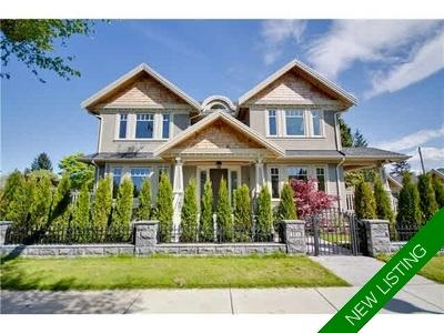 Shaughnessy House for sale:  5 bedroom 5,244 sq.ft. (Listed 2018-01-22)